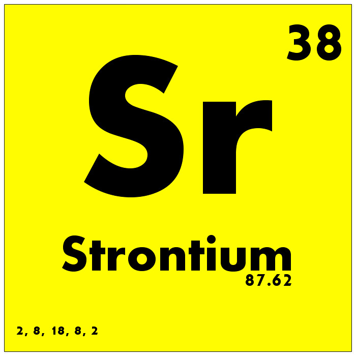 038 Strontium Periodic Table Of Elements Watch Study Gui Flickr