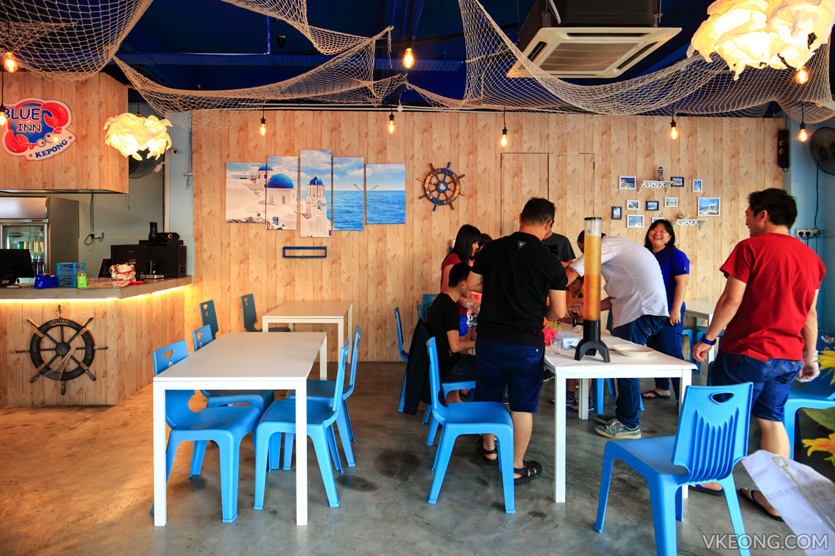 Blue Inn Seafood Kepong Happy Customers