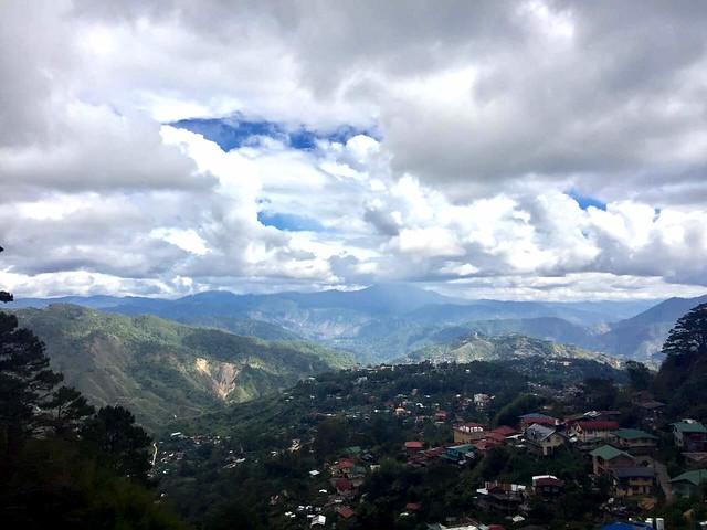 Baguio cityscape
