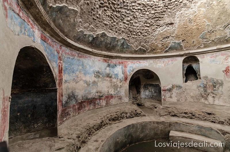 termas estabianas de la visita a Pompeya