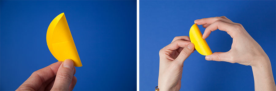 DIY corazones de papel · DIY paper hearts · Fábrica de Imaginación · Tutorial in Spanish