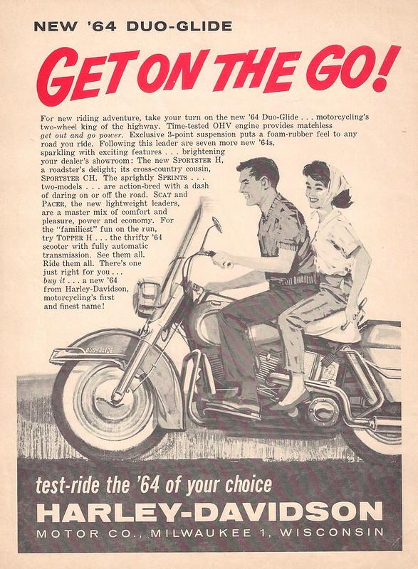 Harley-Davidson Duo-Glide 1964