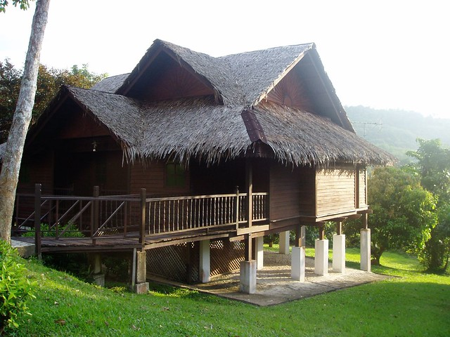 Traditional Malay House On Stilts Part Of The Charm Of