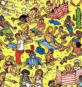 Where's Waldo's Topless Woman | by gods4suckers