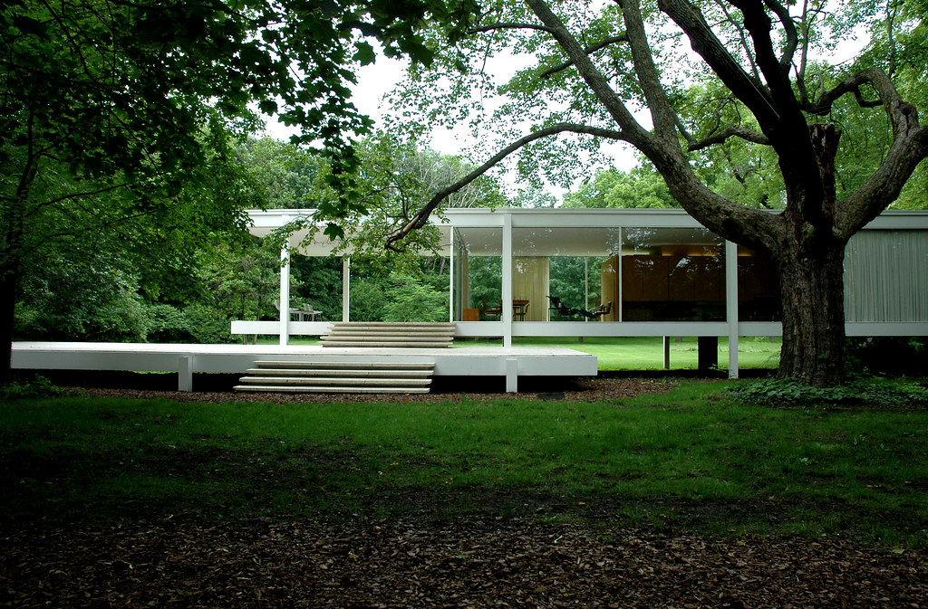 Mies 39 Farnsworth House Farnsworth House Plano Il