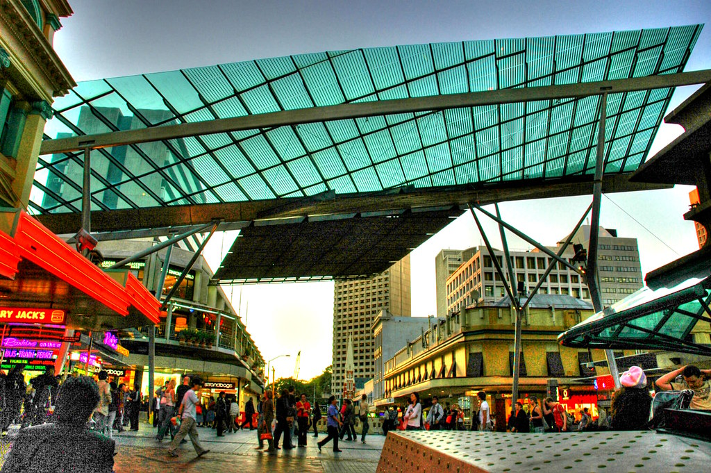 ... queen st mall canopy | by alandot & queen st mall canopy | brisbane | Alan Lam | Flickr