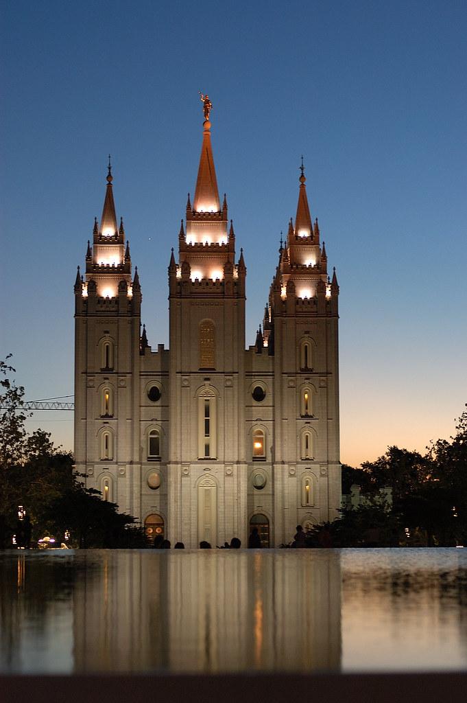 Mormon Tabernacle in Salt Lake City, Utah