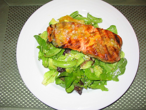 Grilled Salmon Salad | by mostlysunny1