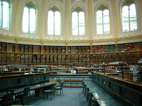 The British Library Reading Room