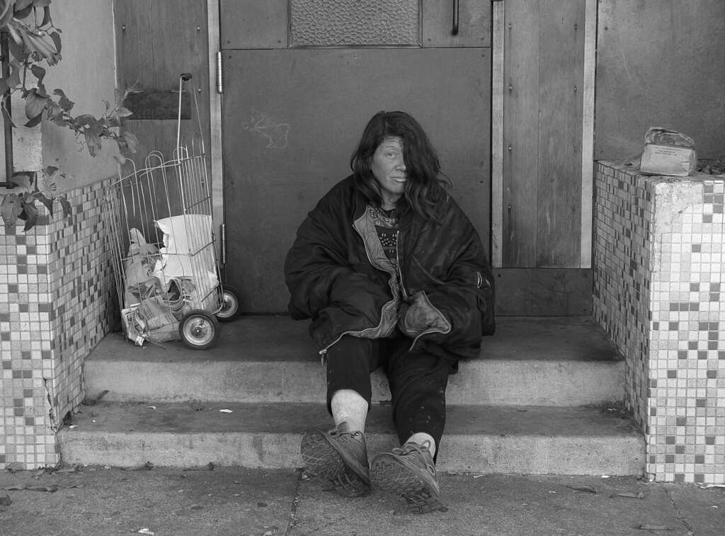 Homeless women in the United States