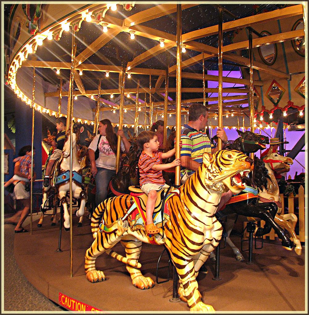 The broad ripple park carousel an