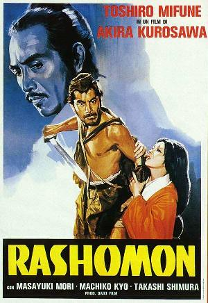 poster for Rashomon