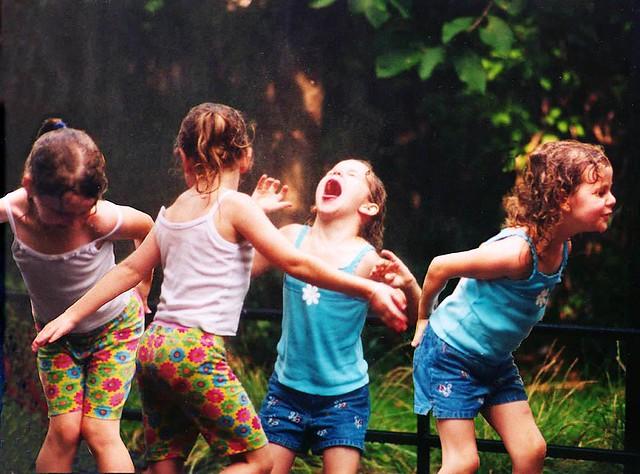 angel children playing - photo #2