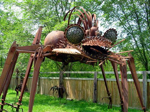 Scrap Metal Spider | by The Adventures of Kristin & Adam