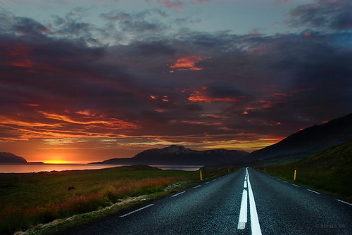sunset road | by hkvam
