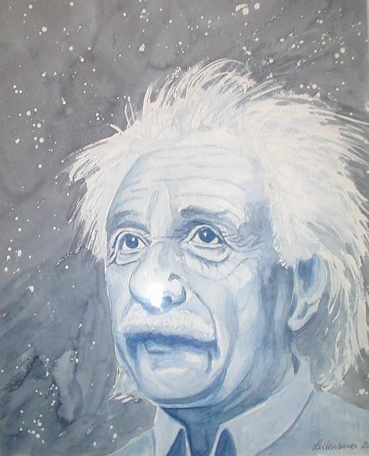 Albert Einstein (Painting)