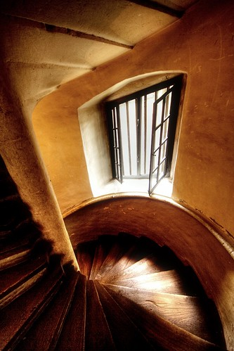 staircase window 2 | by extranoise