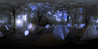 Sziget2006: Tents in IR | by Aldo