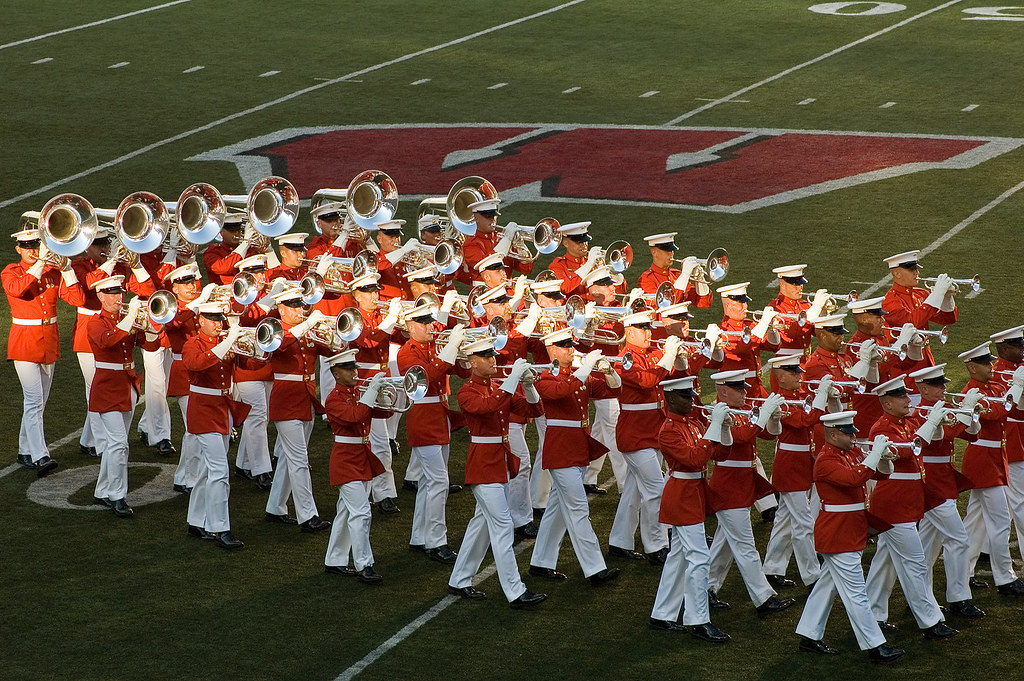 "Marine Drum & Bugle Corps ""The Commandant's Own"" 
