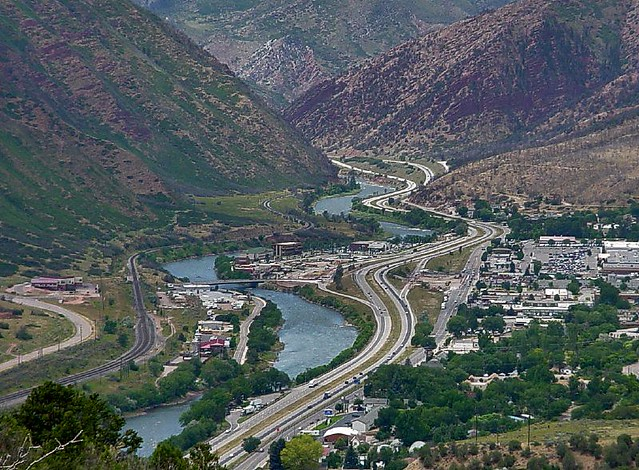 Glenwood Springs and the Colorado River
