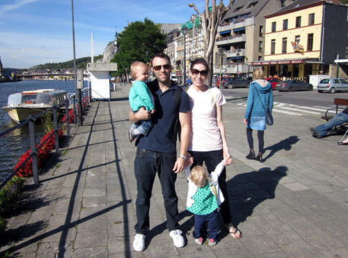 2015 - Europe - Dinant - Around Town Waterfront Family | by SeeJulesTravel