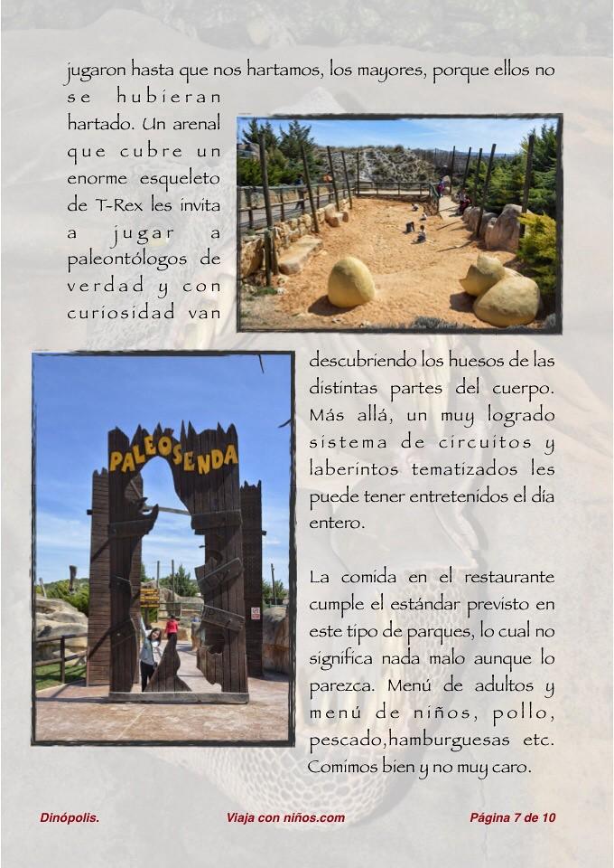 Dinópolis - El epicentro de la ruta Jurásica