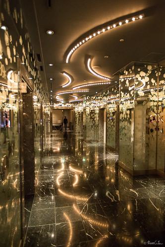 Top floor lobby at Tokyo Westin