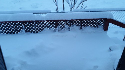 Front Porch Snow