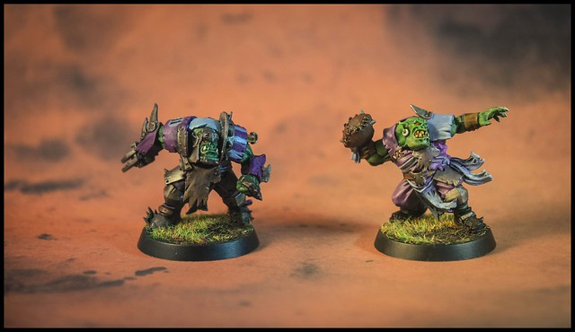 Bloodbowl Orcs