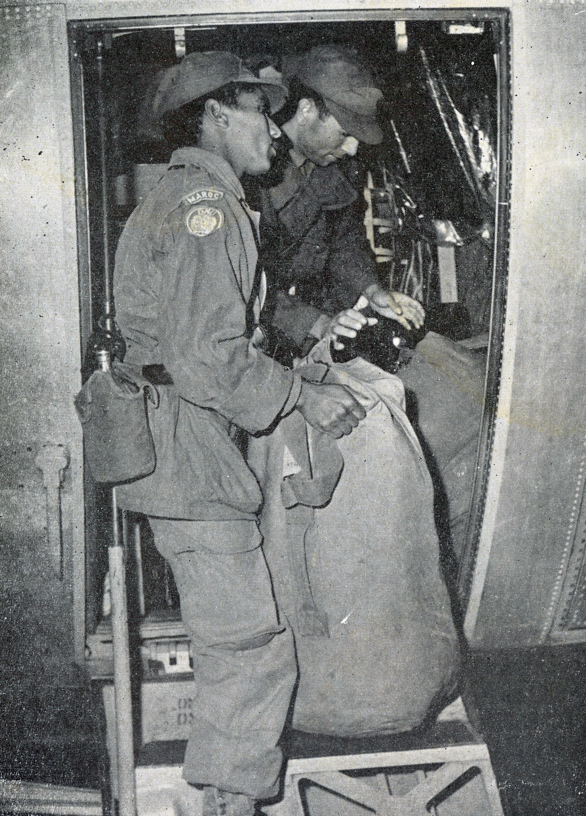 Les Forces Armées Royales au Congo - ONUC - 1960/61 31535614033_eb32b6141c_o