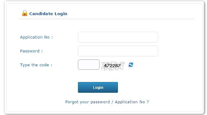 KEAM Candidate login