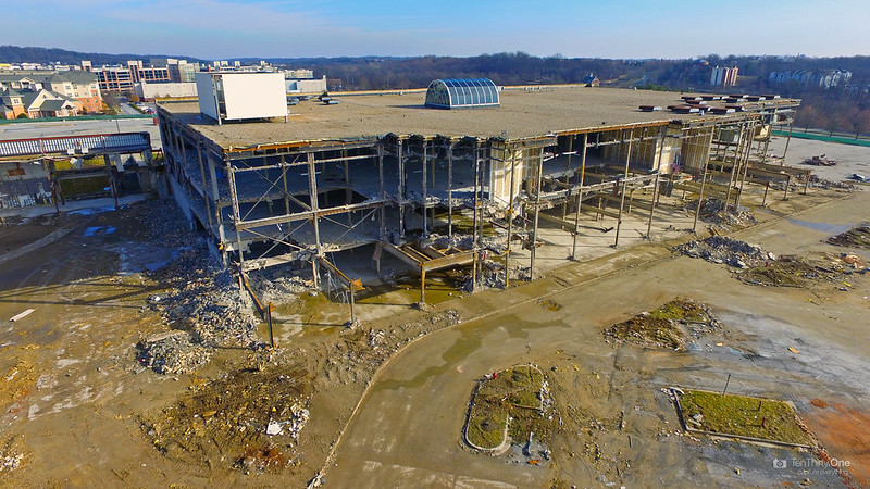 Owings Mills Mall Demolition