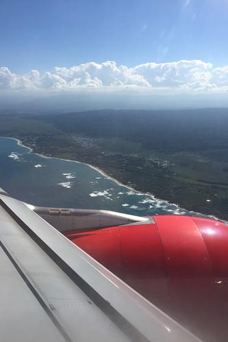 09 - Anflug auf die Dominikanische Republik