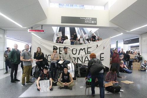 SFO Muslim Ban Protest | by quinnums