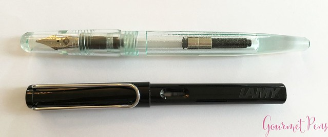Review Franklin-Christoph Model 66 Antique Glass Fountain Pen @1901FC 4