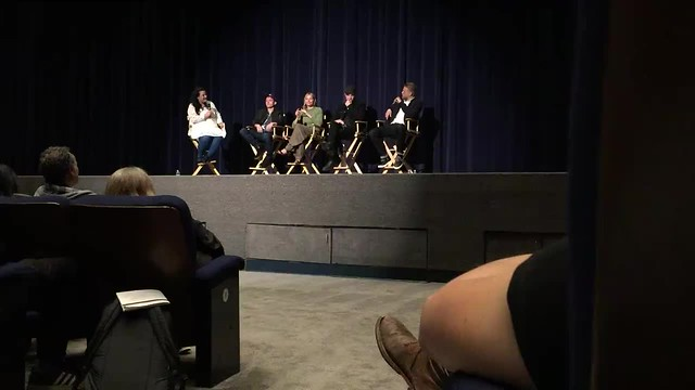 "06.04.2017 Robert Pattinson  Q&A ""The Lost City of Z"" with cast in Los Angeles ( Harmony Gold Theater) № 2"