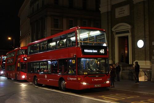 Stagecoach London 15143 on Route 48, London Bridge