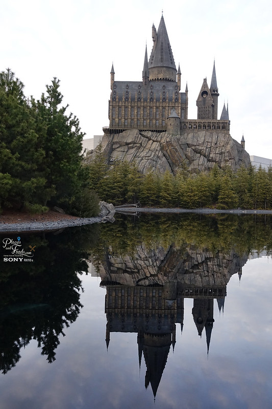 universal studio harry porter reflection