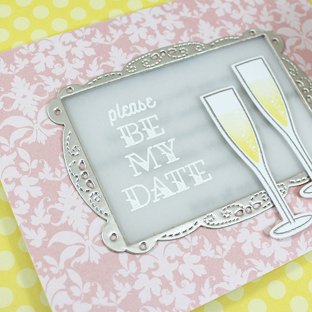 Be My Date Sentiment Close Up