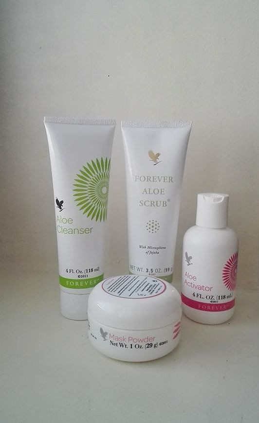 Forever Living Products Aloe Mask Scrub Cleanser
