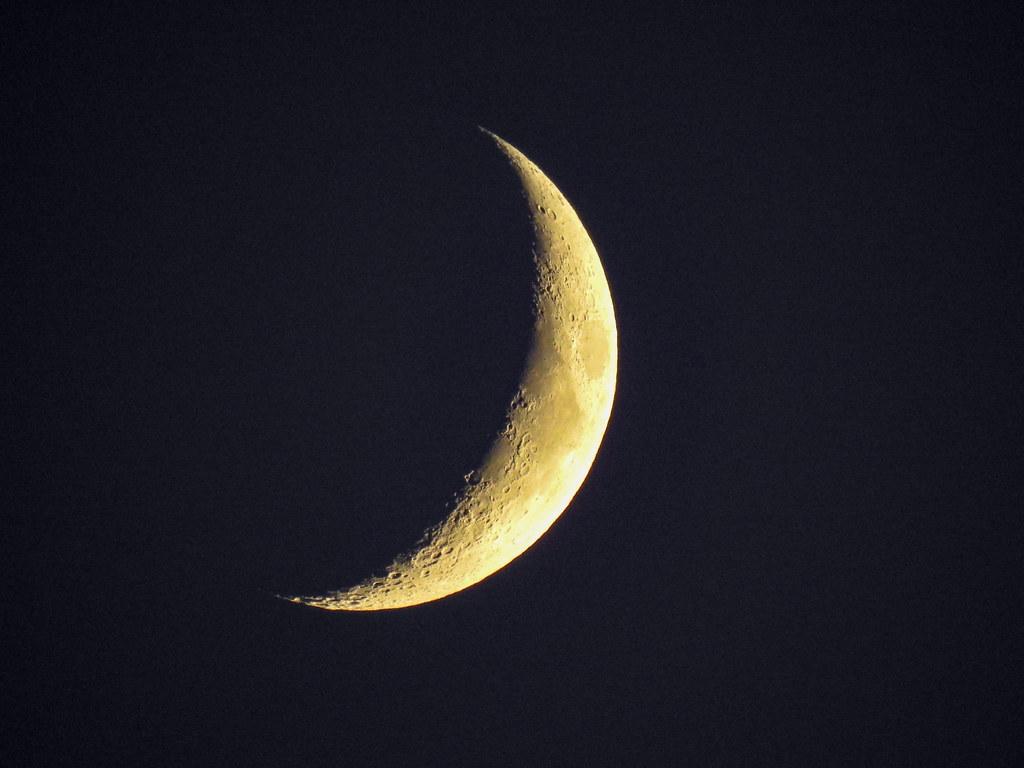 First Moon Photo - Nikon P900 | Flickr - Photo Sharing!