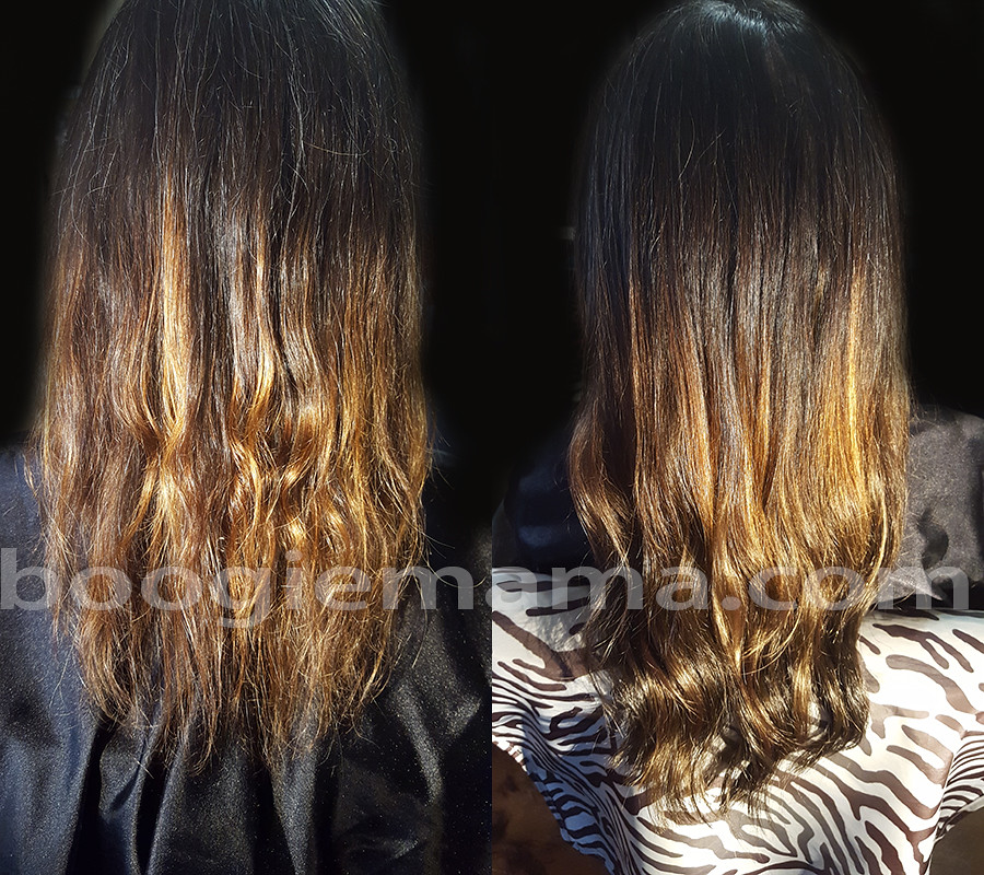 Seattle hair extensions before and after fakehairrules