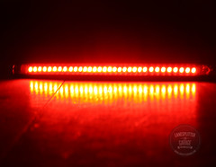 Super Bright LED Taillight Strip with integrated indicators.