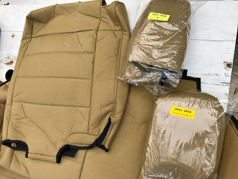 Florida JKUR PartsSafari Straps BARTACT Seat Covers