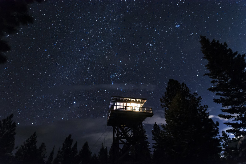Stars and the lookout