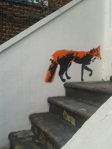 Fox Street Art Just Off Stoke Newington Church Street