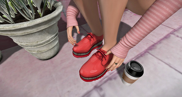 Red Shoes by ANE