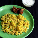 Gobi/Cauliflower biryani recipe