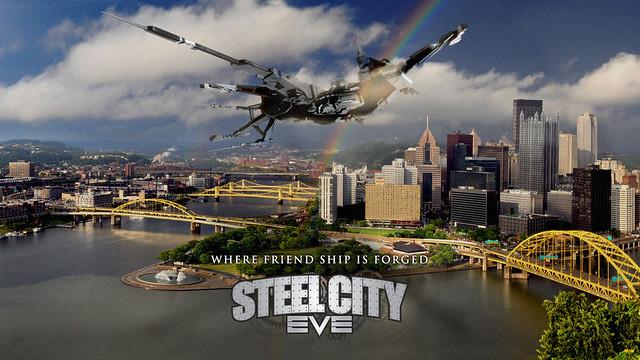 Steel City Eve Wallpaper