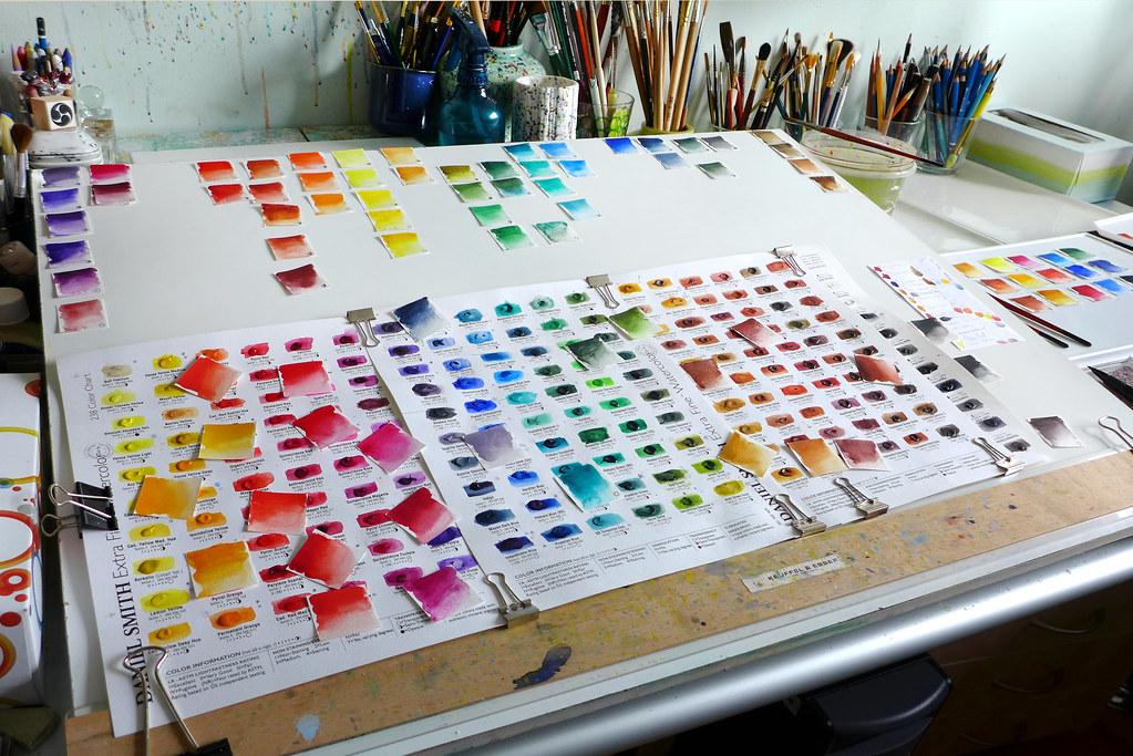 Daniel Smith Color Chart Ezenami Kai Zan57 Flickr